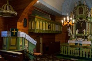 Drewniany kościół ewangelicki